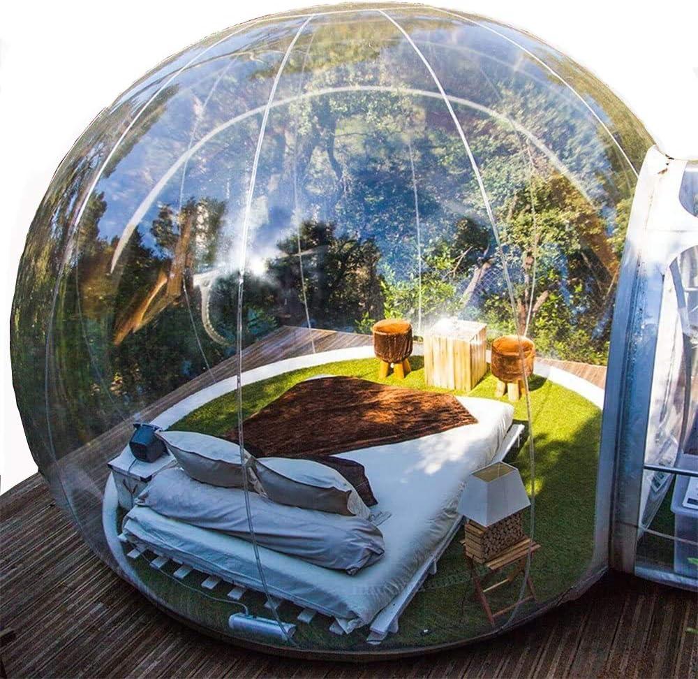 Burbuja hinchable – Tienda de campaña/casa: Amazon.es: Jardín