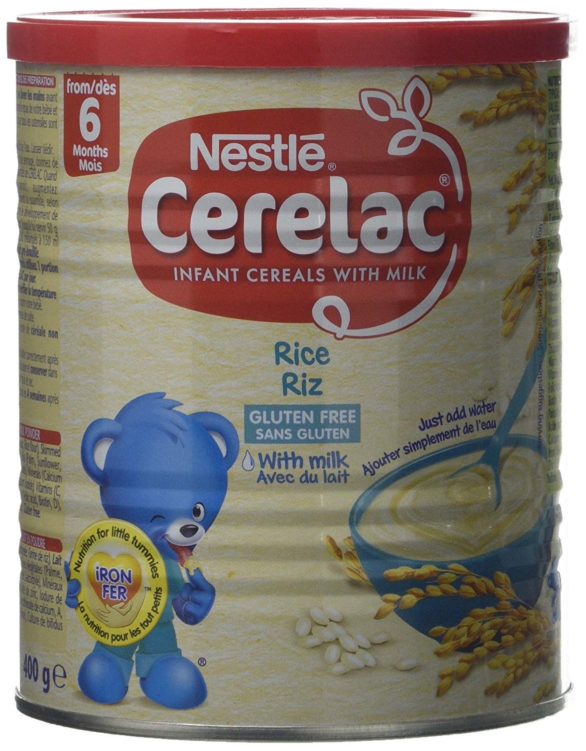 Nestle Cerelac Rice 400g (Europe) by Nestle