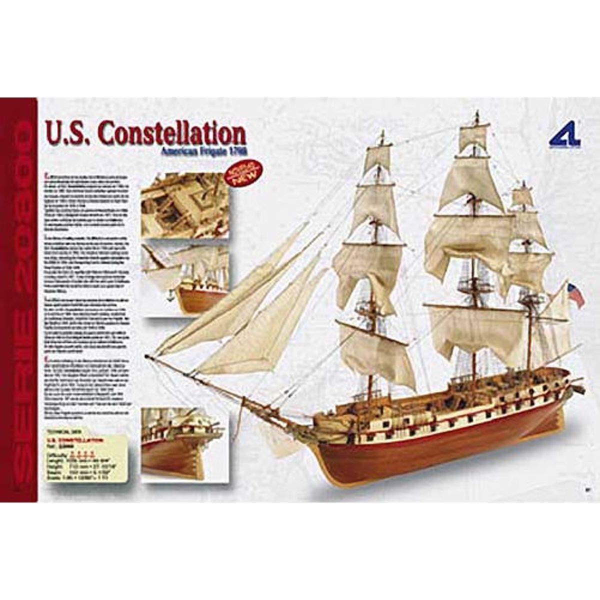 Artesania Latina 22850 1/85 US Frigate 1798 Constellation