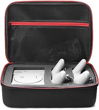 EVA Mini PS1 Consola Bolsa de almacenamiento Estuche rígido con estuche de viaje para Mini PS Playstation Classic, negro: Amazon.es: Electrónica