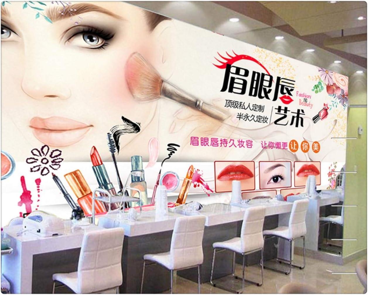 Fashion Brick Wall Cosmetics Shop Decoration Wallpaper Beauty Nail Shop 3d Photo Mural Makeup Store Mural 150cmx105cm Amazon Com