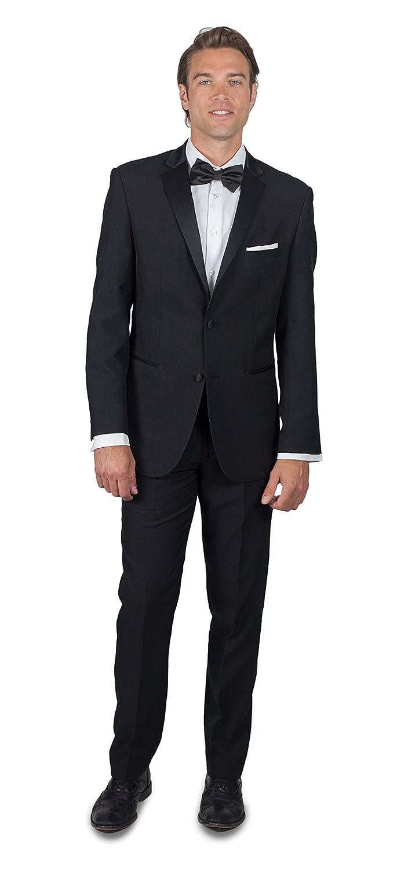 Alain Dupetit Men's Black Tuxedo