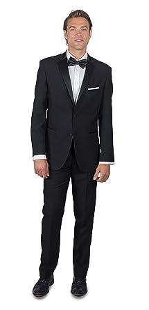 3974444bd8e Alain Dupetit Men's Black Tuxedo 32S Black at Amazon Men's Clothing ...