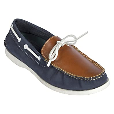 165f6448e045 tZaro Genuine Leather Boat Shoe - Noah  Buy Online at Low Prices in India -  Amazon.in
