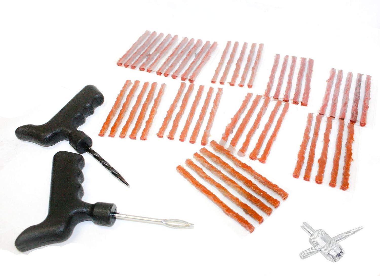 Tire Repair Near Me Open Sunday >> Amazon Com Tire Repair Tool Kit 53pc T Handle Rasp Open