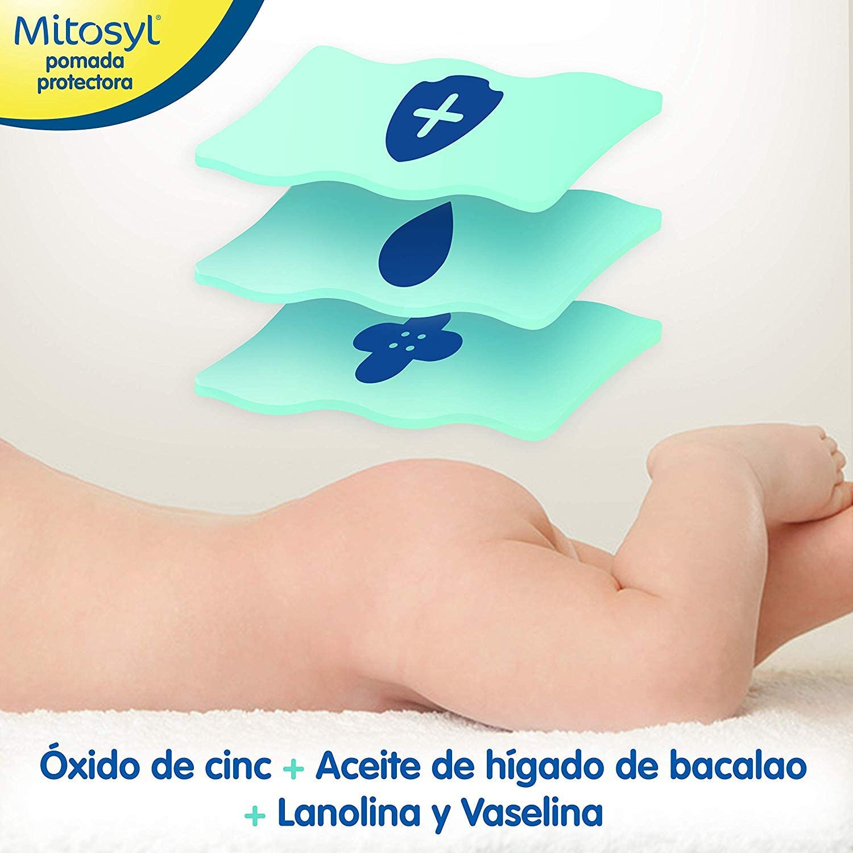 Mitosyl - Pomada Protectora, Previene y Trata las Irritaciones de la Piel del Bebé por Rozaduras del Pañal, 145g: Amazon.es: Alimentación y bebidas