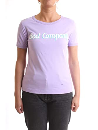 BEST COMPANY 592520 T-Shirt/Polo Mujer glicinas M: Amazon.es: Ropa ...