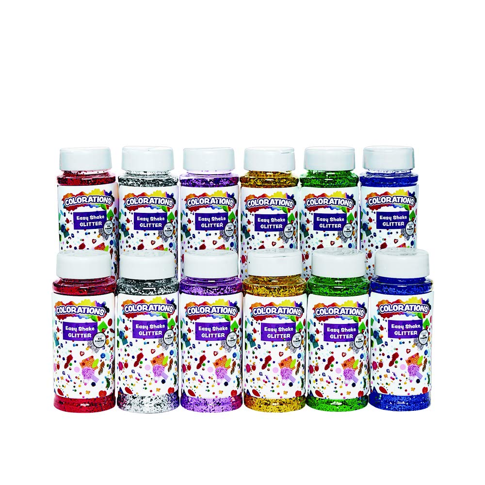 Colorations Zsazsa Easy Shake Glitter (Pack of 12)