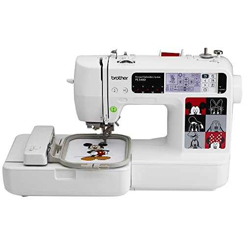 Brother PE540D 4x4 Embroidery Machine with 70 Built-in Decorative Designs, 35 Disney Designs