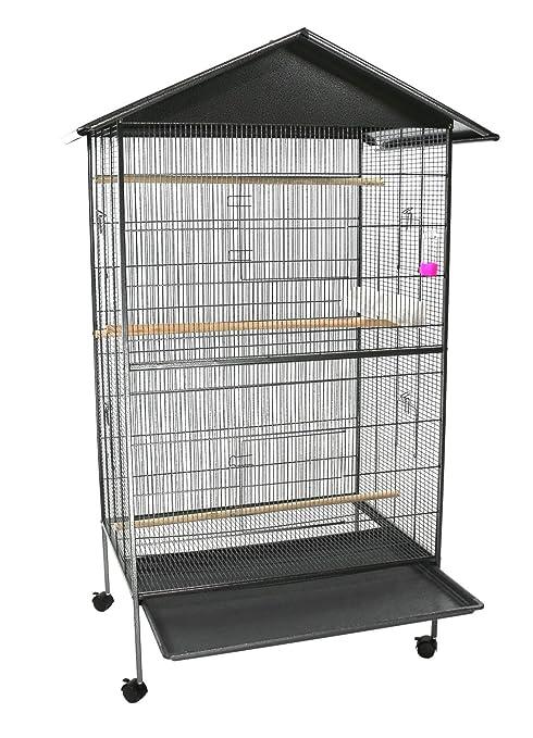 Jaula de pájaro, grandes Pájaros Aviario: Amazon.es: Productos ...