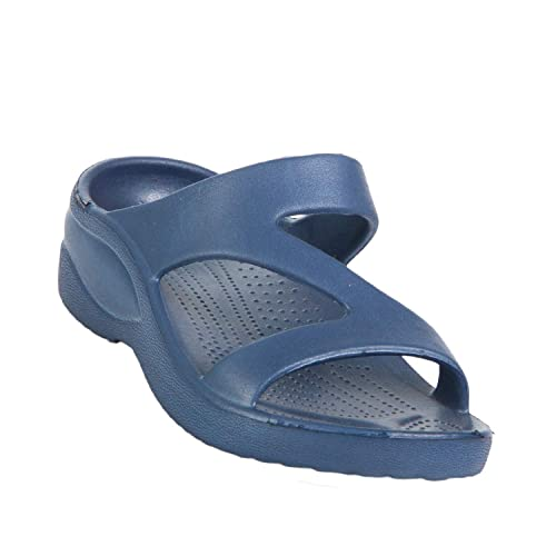 19a9a229342c DAWGS Toddlers  Z Sandals - Navy Blue