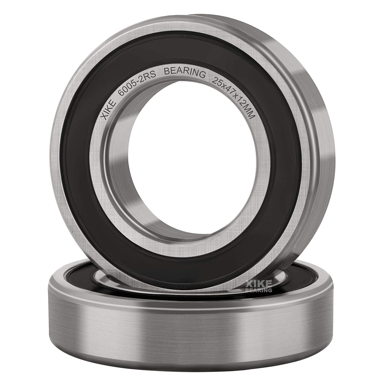 Xike 10 Pack 6005-2Rs Bearings 25X47X12Mm Stable Performance And Cost-Effective