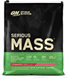 Optimum Nutrition Serious Mass Weight Gainer Protein Powder, Vitamin C, Zinc and Vitamin D for Immune Support…