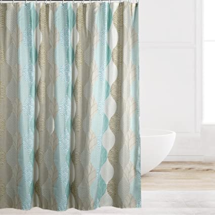 Eforcurtain Novelty Pattern Water Repellent Shower Curtain Fabric Mildew Free Bathroom Home Decor