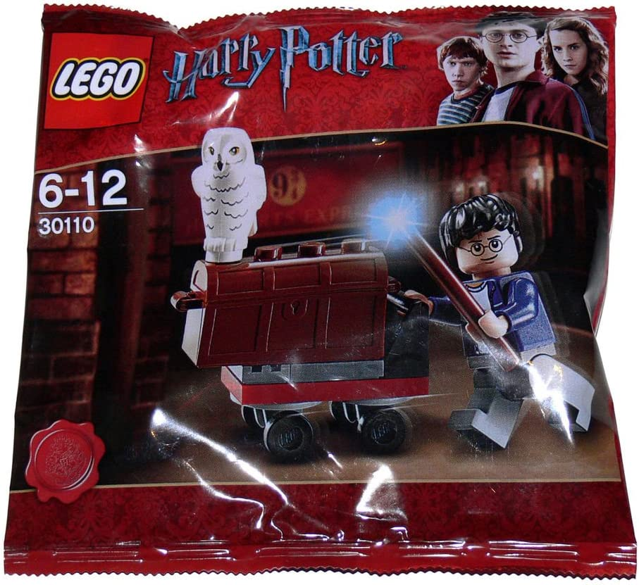 Lego Harry Potter Minifigure Set Trolly Polybag 30110 Toys Games