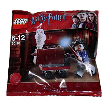 Et Harry Cross Avec Trolley Lego Hedwig PotterKing's Hibou VqSMUzp
