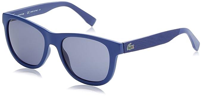 Lacoste Wayfarer Eye, Gafas de Sol Unisex Adulto, Azul (BLU), 54: Amazon.es: Ropa y accesorios