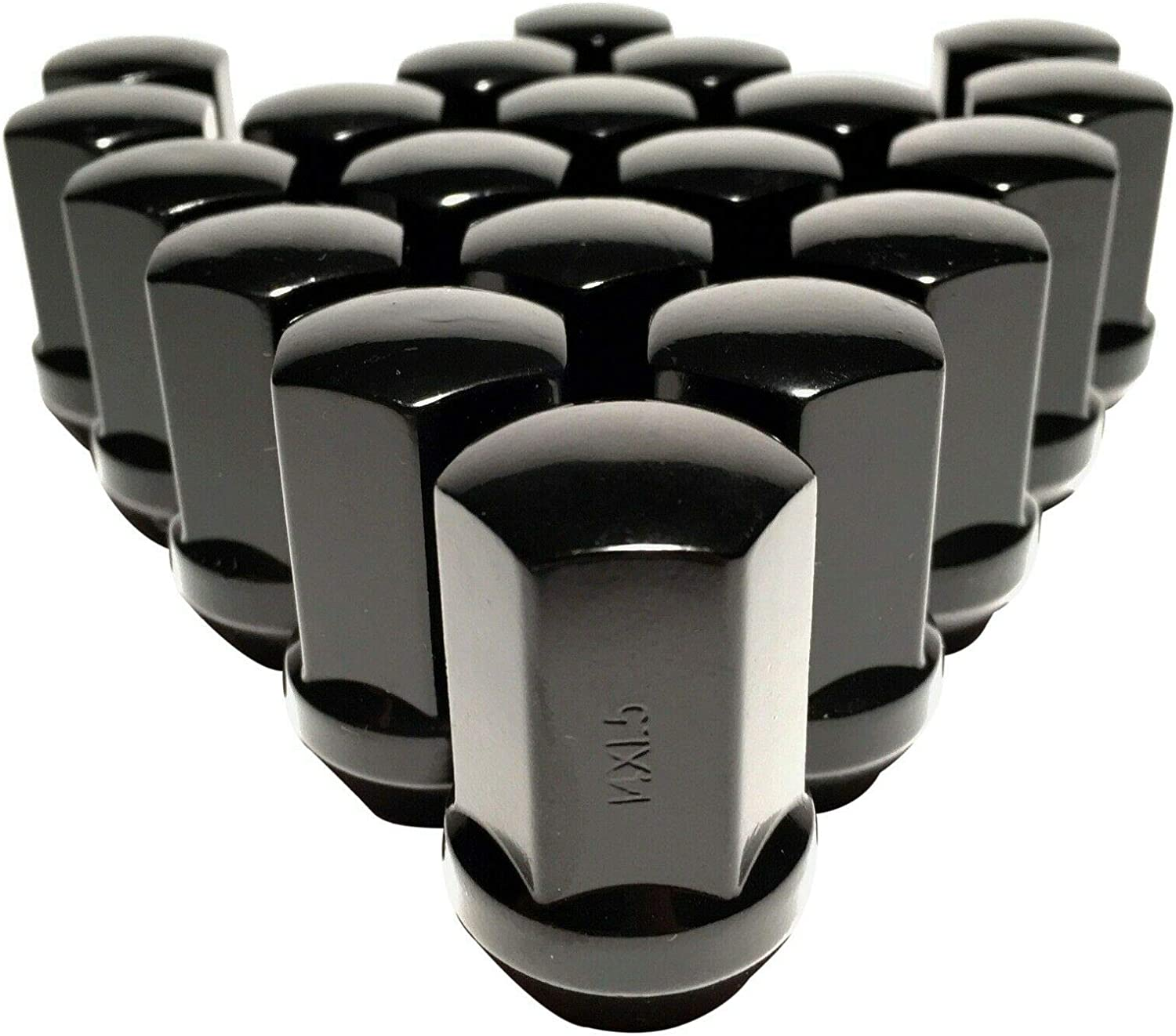 Coyote 20 Black 14x1.5 OEM Lug Nuts Compatible with RAM 1500 Durango Factory Wheel Lugs 1.5 Tall
