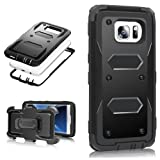 Amazon Price History for:MoMoCity Sumsang Galaxy S7 Edge Case, 3 in 1 Design Heavy Duty Rugged Holster Belt Full-Protect Swivel Kickstand Clip Case for Samsung Galaxy S7 Edge