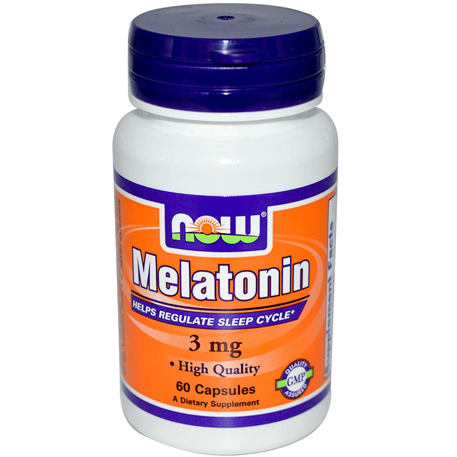 Amazon.com : NOW Foods - Melatonin 3 mg 60 caps (Pack of 6) : Medicinal Sleep Aids : Beauty