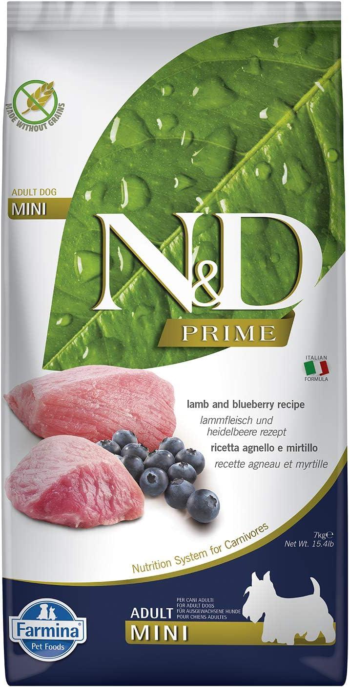Farmina Natural And Delicious Lamb Grain-Free Formula Dry Dog Food, 15.4-Pound