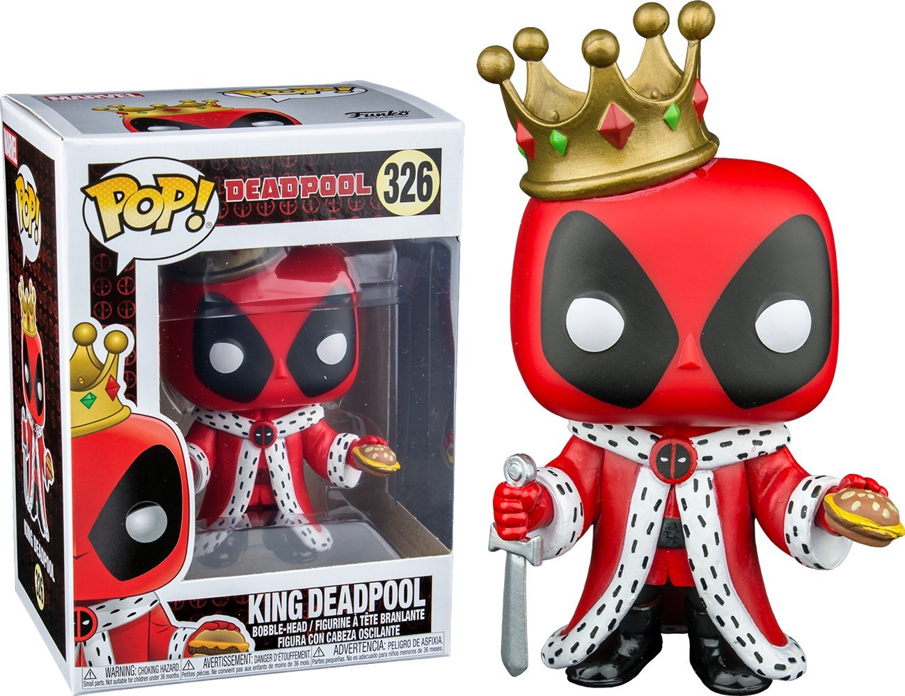 Funko POP! King Deadpool #326