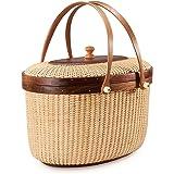 Amazon.com: Teng Tian Basket, Picnic Basket, Storage