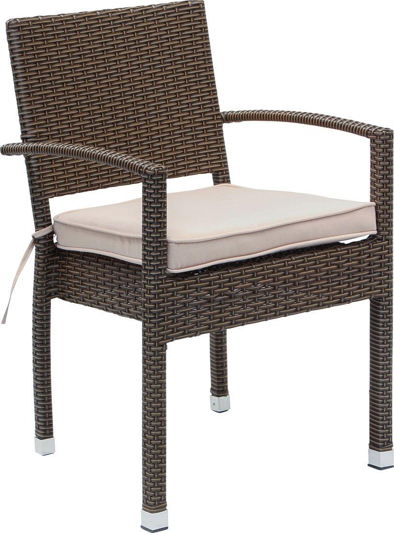 Details Zu IB Style U2013 Set Premium Gartenstühle Malaga BRAUN | 4 Set Kombinationen  | Polyrattan Stapelbar Stapelstuhl Gartenmöbel Gartengarnitur Gartenset ...