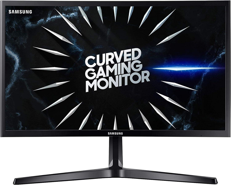 Samsung C24RG52 - Monitor Curvo Gaming de 24 (Full HD, 4ms, 144 Hz, FreeSync, Flicker-Free, LED, VA, 16:9, 3000:1, 1800R, 250 cd/m², 178°, HDMI, Base en V) Negro: Amazon.es: Informática