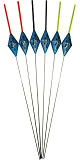 Pack of 6 x Pencil Wire Stem Pole Floats SRG008