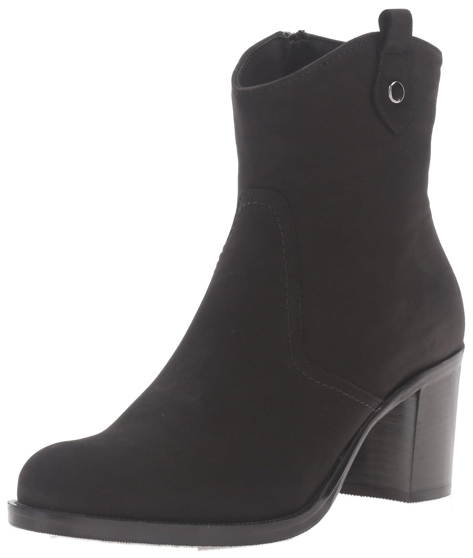 La Canadienne Women's Phinn Nubuck Fashion Boot B018RUCCRS 5.5 B(M) US|Black Nubuck