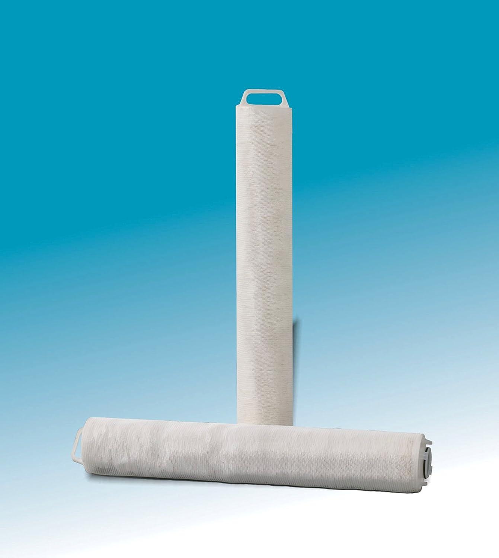 Polypropylene Pack of 1 3M 15052-case High Flow Series Filter Cartridge Model HF40PP010D01 10 Micron