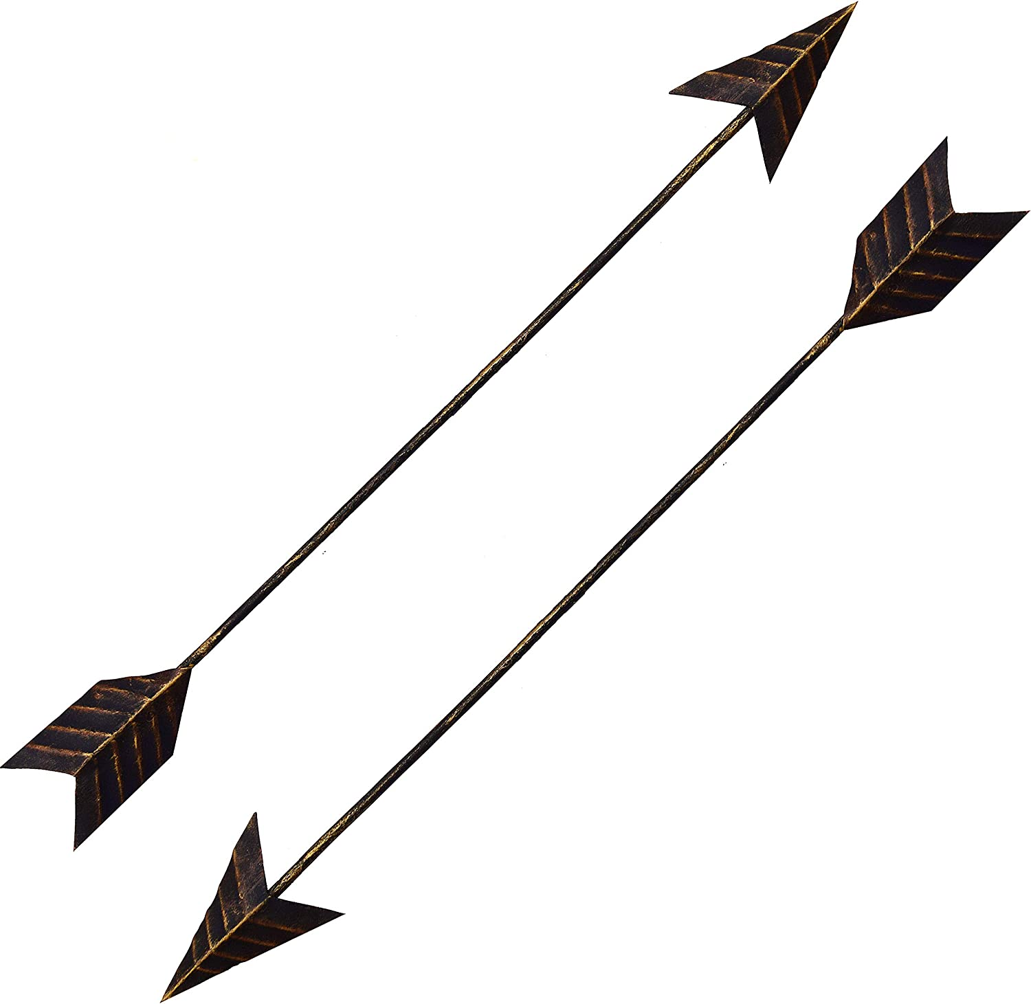 Crafia Cast Iron Native American Metal Arrow Wall Decor | Handmade Farmhouse Decor and Ideas (2)