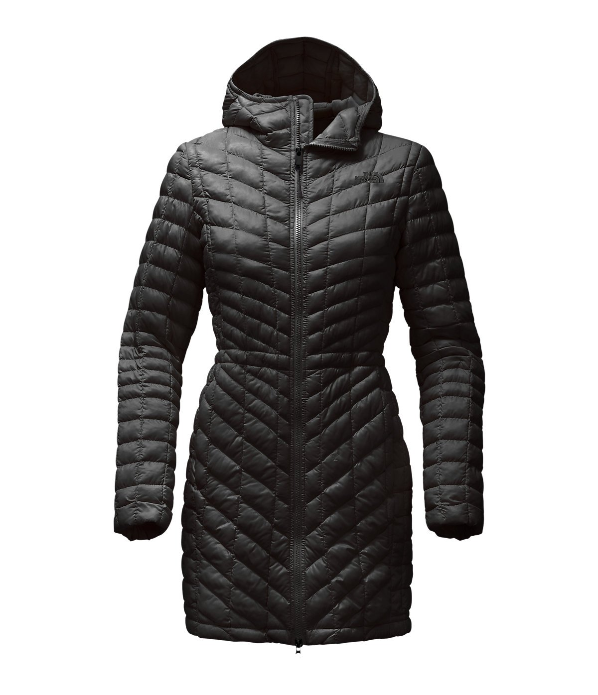 The North Face ThermoBall Hooded Parka - Women's TNF Black Small