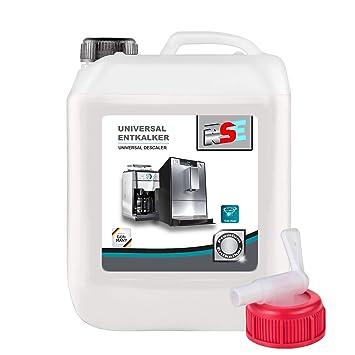 5 litros RSE Premium Universal descalcificador con grifo para cafeteras automáticas,, Monodosis y cafeteras de cápsulas: Amazon.es: Hogar