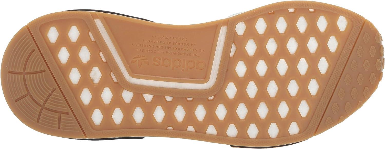 adidas Originals Damen NMD_r1 Turnschuh, Beige/Weiß Vapour Green Vapour Green Bright Gold