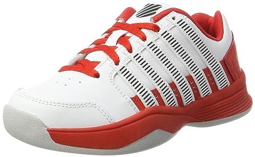 finest selection ff006 99b7c K-Swiss Performance Unisex-Kinder Court Impact Ltr Carpet Tennisschuhe