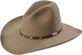 product image for Stetson Men's 4X Tan Mine Buffalo Felt Cowboy Hat - Sbslvm-5036 Stone