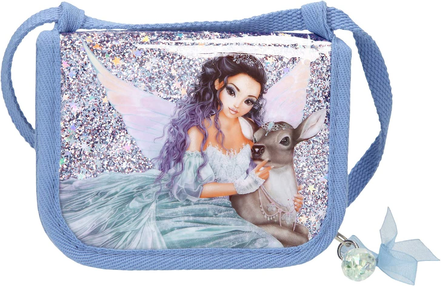 Depesche 11045 Brustbeutel ca Fantasy Model Mermaid 13 x 10 x 2 cm blau