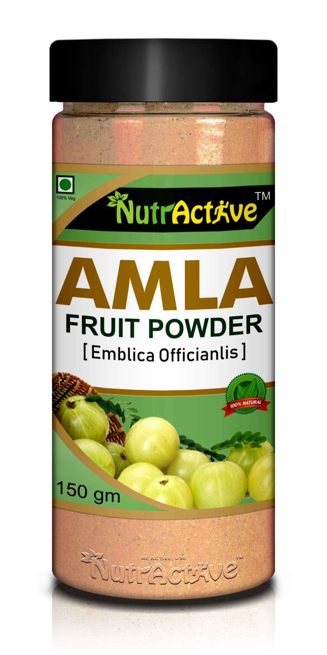 NutrActive AMLA Powder_150gm (Pack of-1)