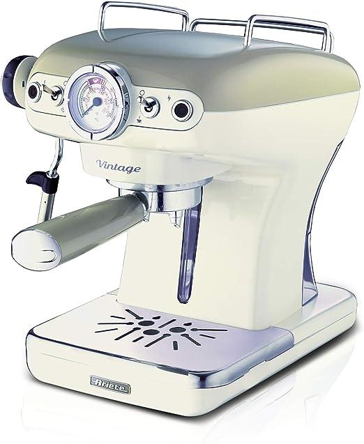 Ariete 1389 Cafetera espresso vintage, 900 W, 0.9 litros, PLASTICO ...