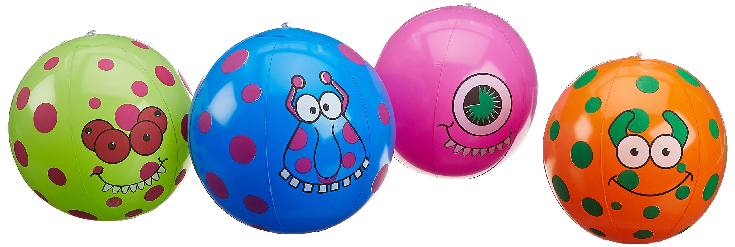 Fun Express Monster Beach Balls (1 Dozen)