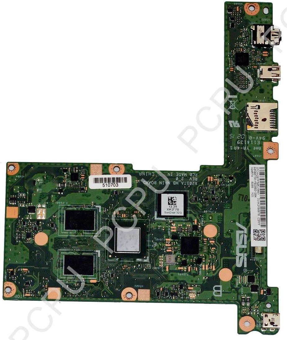 ASUS 60NB0730-MB2002 Asus EEEBOOK X205TA 11.6 Laptop Motherboard 2GB/32GB SSD w/ Int Detalles de Asus eeebook X205 Placa Madre Intel 60nb0730-mb2002-204