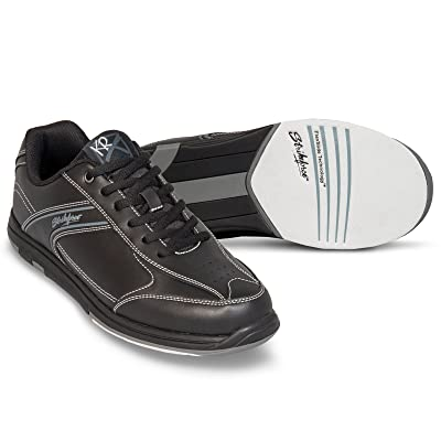 KR Strikeforce M-031-075 Flyer Bowling Shoes, Black, Size 7.5: Sports & Outdoors
