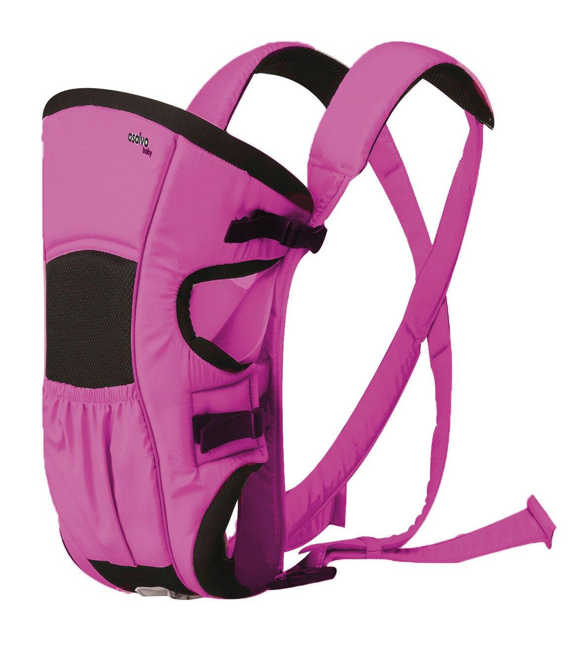 Asalvo 11091 - Mochila portabebés, color rosa: Amazon.es: Bebé