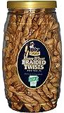 Utz Honey Wheat Braided Twist Pretzels, 26 oz Barrel