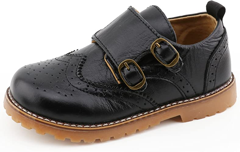 Toddler//Little Kid//Big Kid UBELLA Boys Kids Oxford Dress Shoes