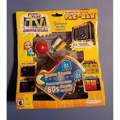Original Pac Man Arcade Classics Namco Plug & Play TV Games: Toys & Games