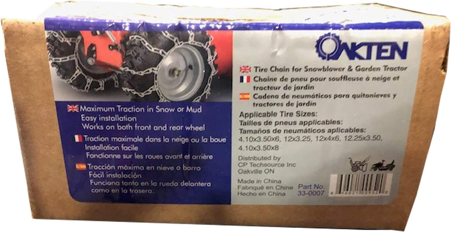 TireChain.com 1022 P175//80R14 175//80-14 Cable Tire Chains Priced per Pair.