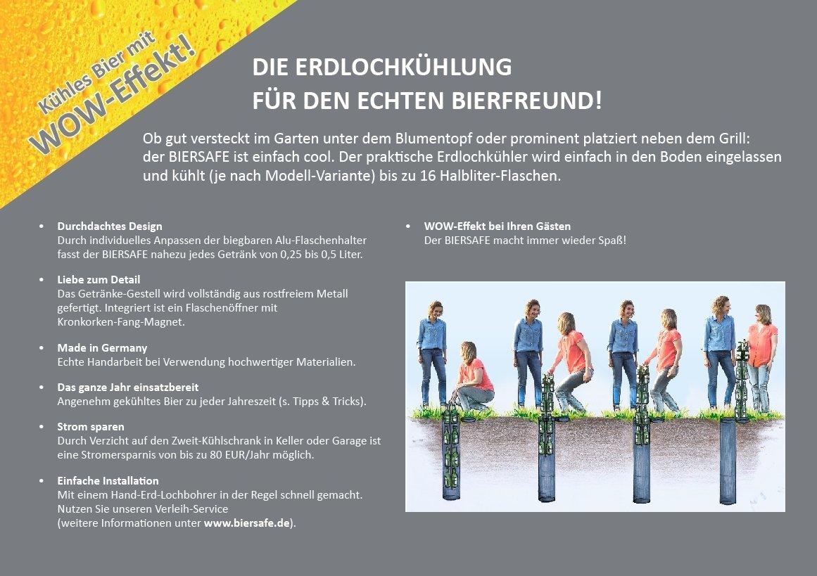 BIERSAFE: Outdoor / Garten Erdloch Bier Kühler, Beer safe cooler ...